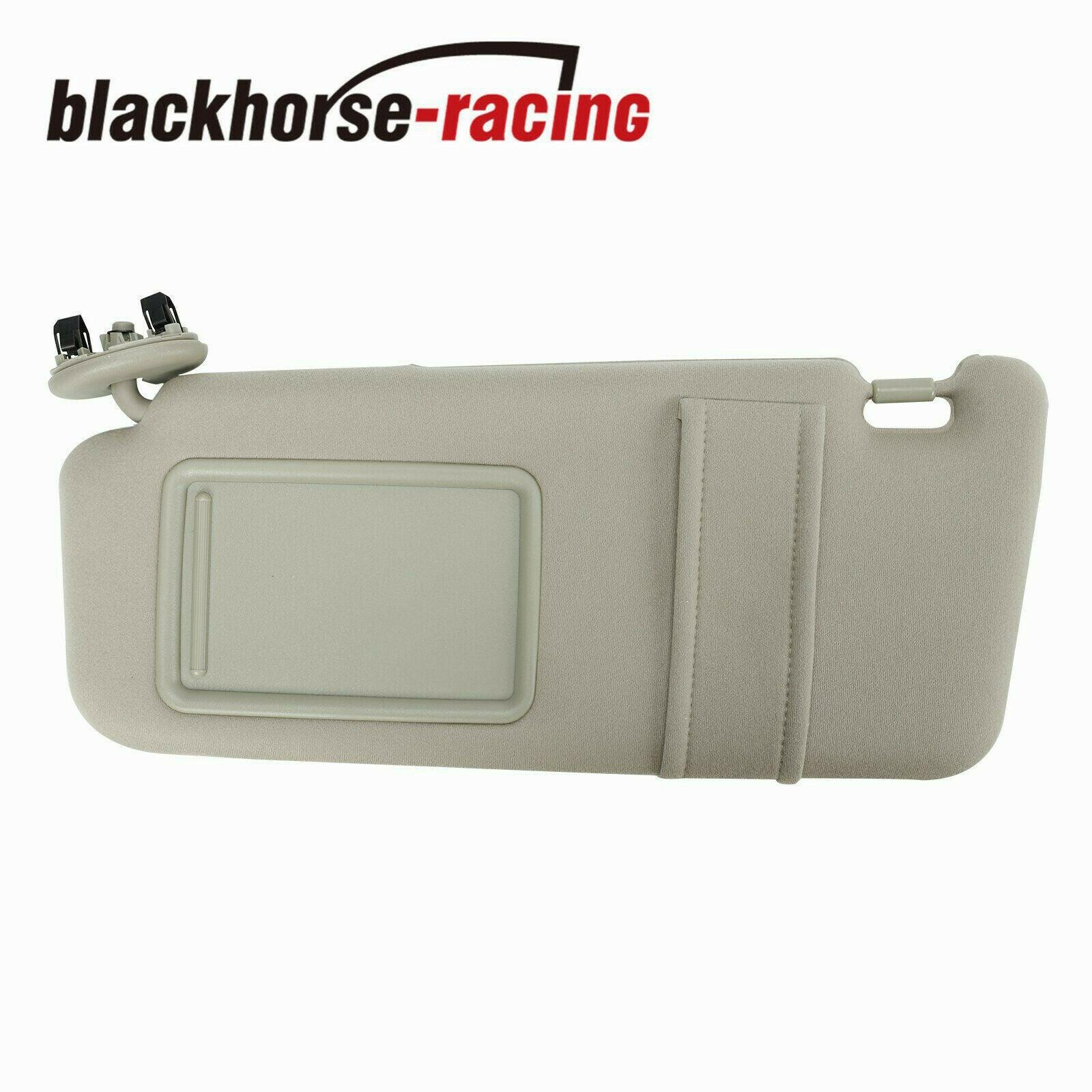 Sun Visor Driver Left Tan Beige For 2007-2011 Toyota Camry Without Vanity Light