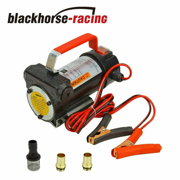 Electric Fuel Transfer Pump 12V DC Fit Diesel Kerosene Oil Commercial Auto