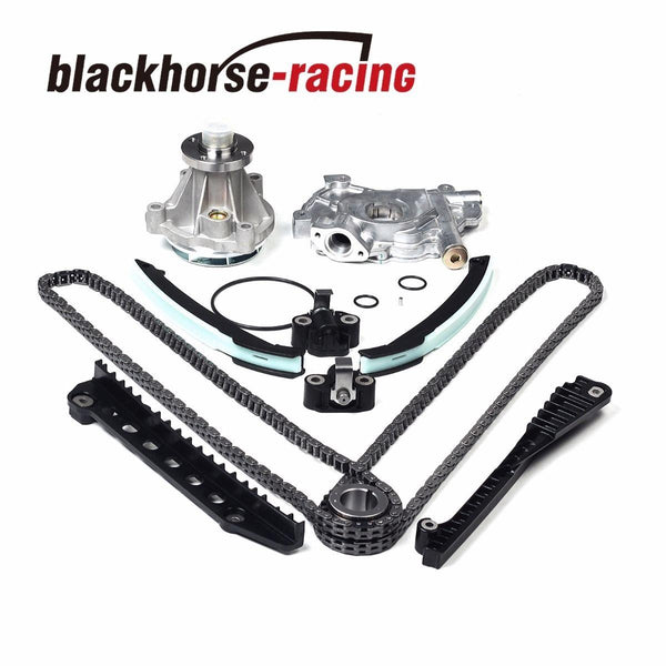 For Ford F150 Lincoln 5.4L 3V Triton 04-08 Timing Chain Oil& GMB Water Pump Kit