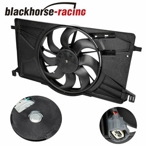 FO3115189 Radiator AC Condenser Cooling Fan Fit 2012-2017 Ford Focus 2.0L l4