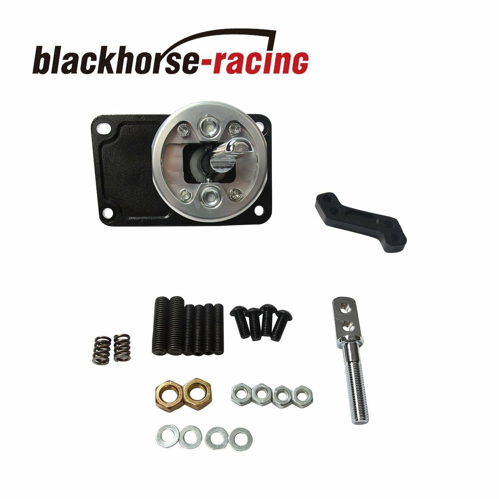 BLACK RACING SHORT THROW QUICK SHIFTER FOR 83-04 FORD MUSTANG/THUNDERBIRD T5/T45