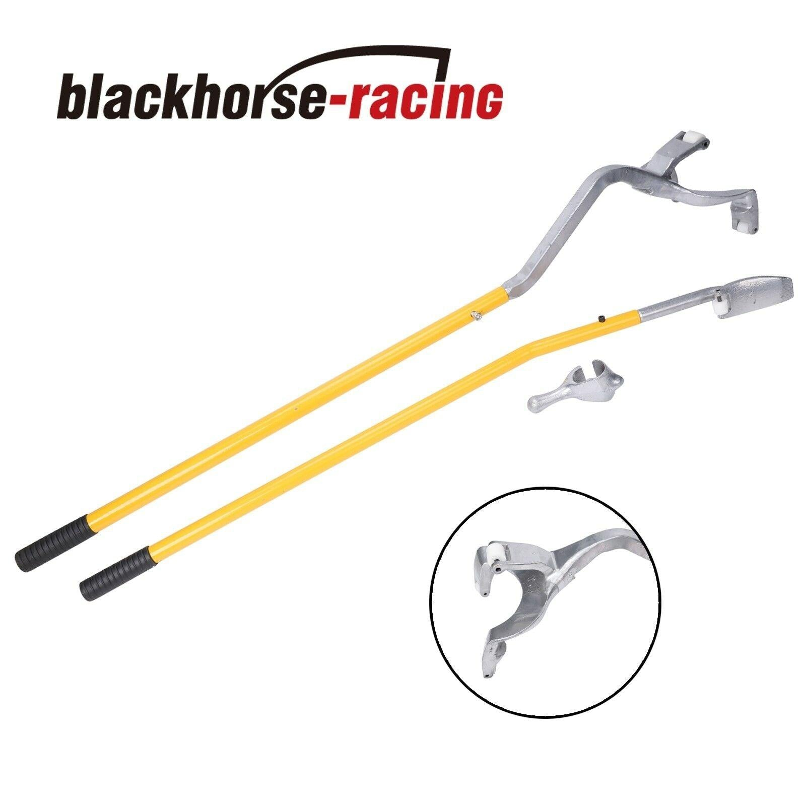 "Blackhorse-Racing 17.5/"" To 24.5/"" Tire Changer Mount Demount Removal Tool Tubeles"