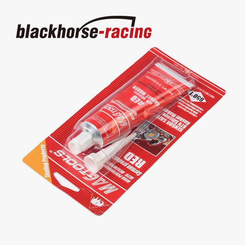 New  Red RTV High Temp Silicone Gasket Maker Master #7