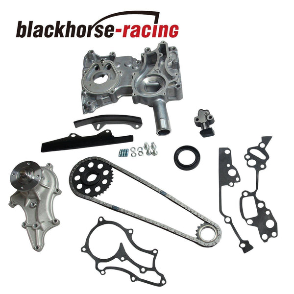 For Toyota Pickup 4Runner 2.4L 85-95 22R Timing Chain w/ Cover Water Pump Kit