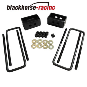 2'' Rear Leveling lift kit For Ford F150 2WD 4WD 2004-2017 Black