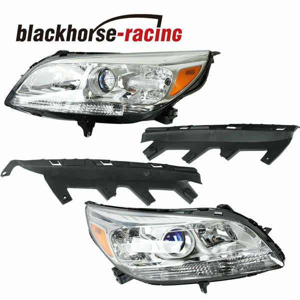 LEFT+RIGHT For 2013-2015 Chevy Malibu Replacement Halogen Projector Headlights