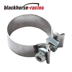 1.75'' 1-3/4''Genuine T409 Stainless Steel Narrow Band Exhaust Clamp For Downpipe