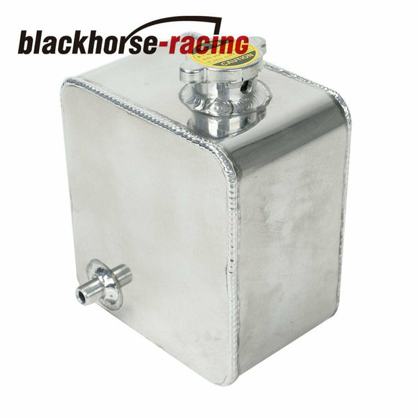 2.5L Universal Aluminum Coolant Radiator Overflow Recovery Water Tank Bottle