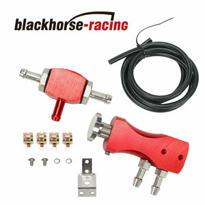 1-30 Psi Manual Turbo Turbocharger Adjustable Racing Boost Controller Kit Red