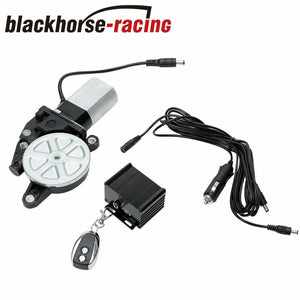 E-Cutout System Kit Motor+Wireless remote+12ft wiring harness Electric Exhaust