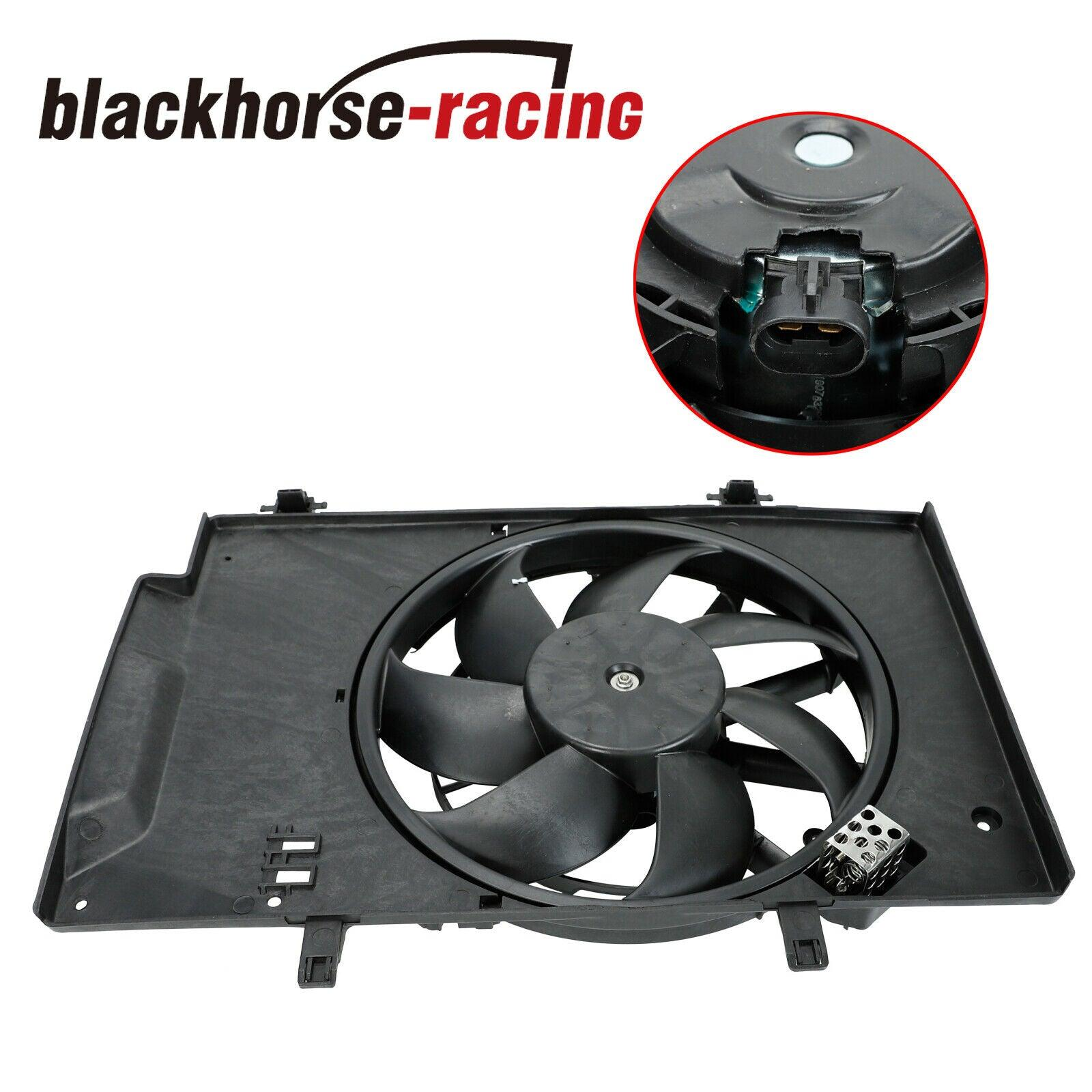 FO3115186 Radiator AC A/C Condenser Cooling Fan Fit 2011-18 Ford Fiesta 1.0 1.6L