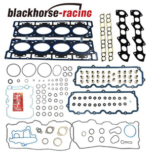 DIESEL TURBO MLS HEAD GASKET SET 18mm Dowels For 03-10 Ford 6.0L E350 F250/350