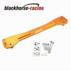 Rear Subframe Tie Brace Bar Suspension For 1996-2000 Honda Civic EX DX Yellow