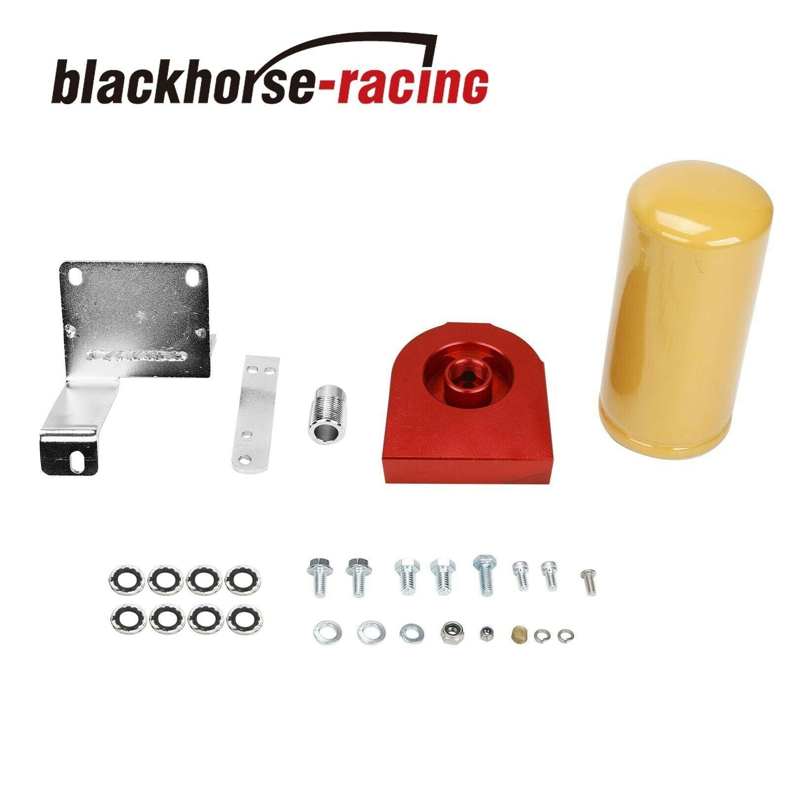 For 2004.5-2007 Dodge Cummins 5.9L CAT Red Fuel Filter Adapter Kit