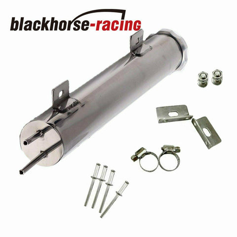 Radiator Overflow Tank//Catch Can 3 x 10,Stainless Steel for Chevy CK Truck