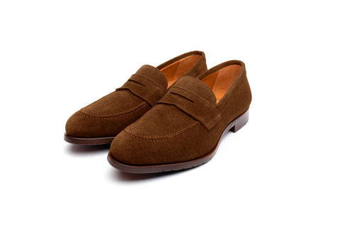 Madison Glove Brown Suede