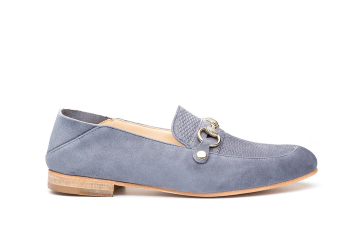 The Hamptons Grey suede