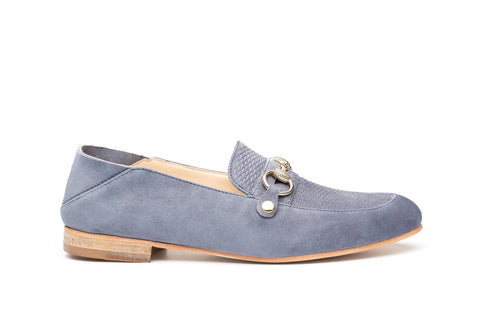 HAMPTONS GREY SUEDE