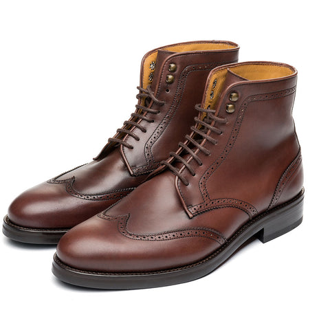 The Kimball Brown Leather