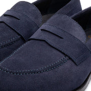 Madison Glove Blue Suede