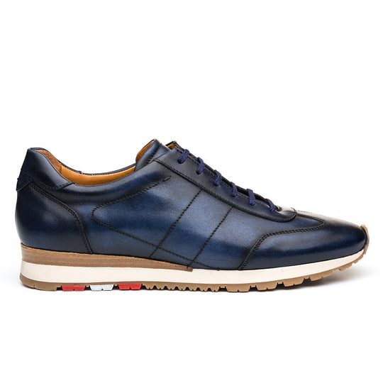 Q Sneaker Blue Leather