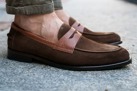 The Bowery Light Brown Suede