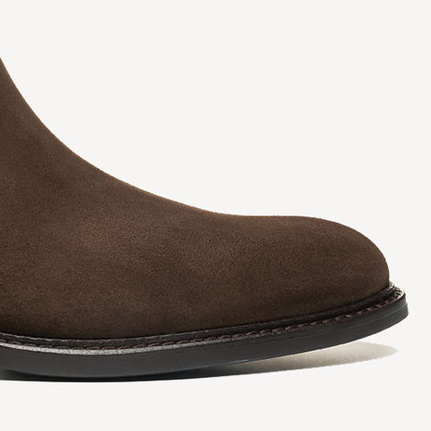 The Chelsea Brown Suede