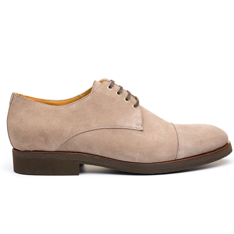 The Filmore Beige Suede