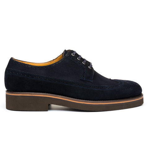 The Lombard Blue Suede