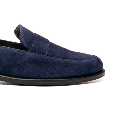 TRACY BLUE SUEDE