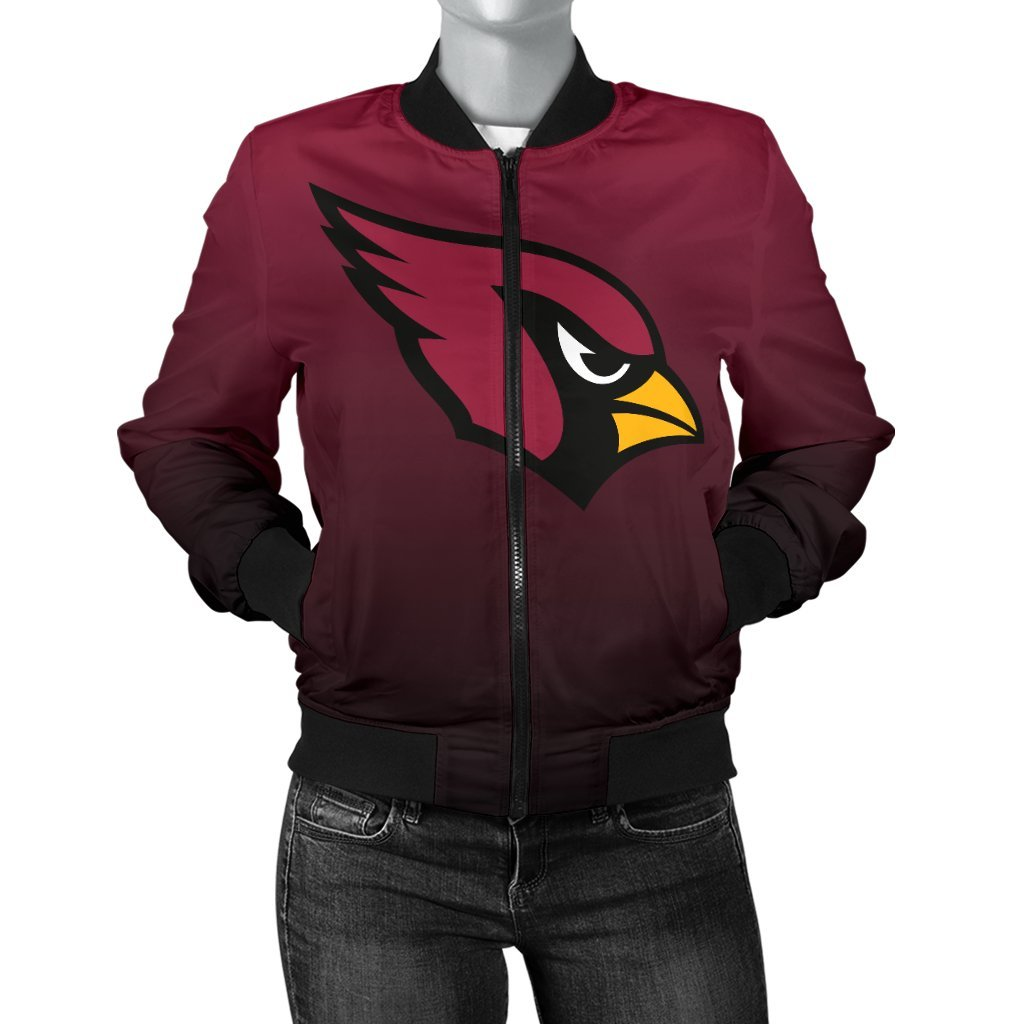 e922147d Arizona Cardinals Women's Bomber Jacket