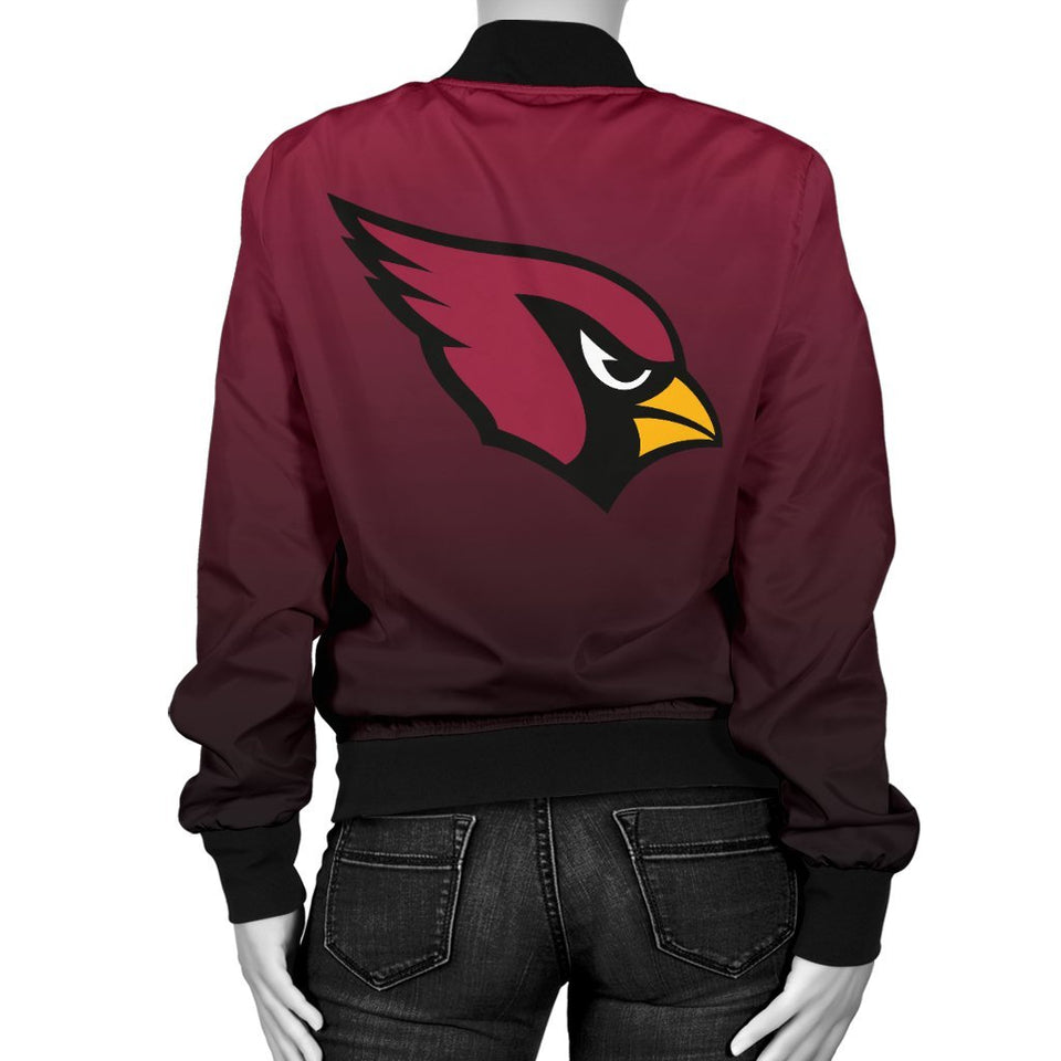 30050f55 Arizona Cardinals Women's Bomber Jacket – Joy Baseball