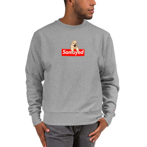 Samoyed Box Logo Champion Sweatshirt