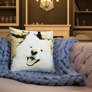 Happy Sammy Premium Pillow