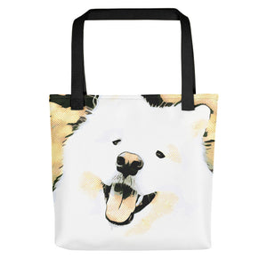 Happy Sammy Tote bag
