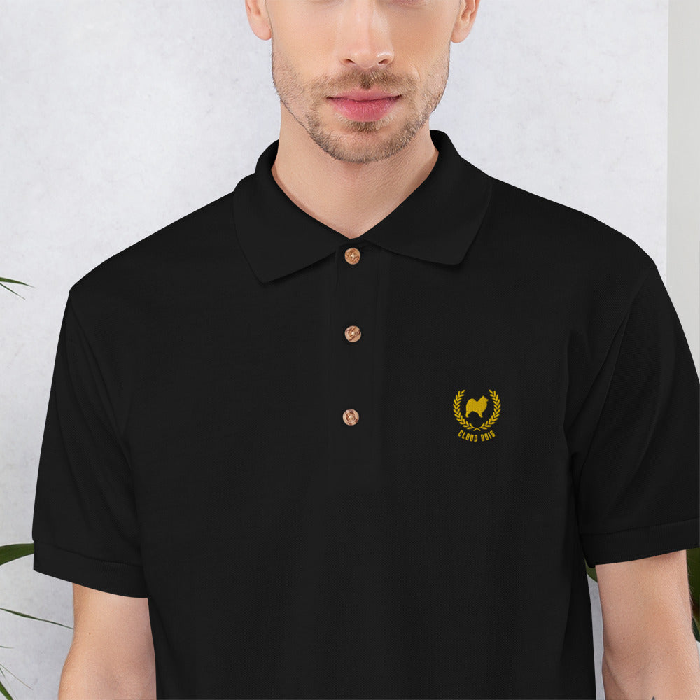 Cloud Bois Embroidered Polo Shirt