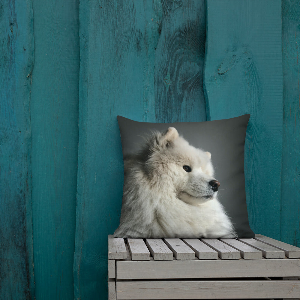 Pensive Shoober Premium Pillow