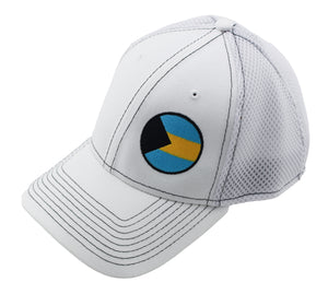 Bahamas Relief Fitted Hat