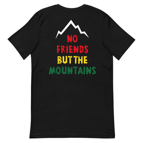 No Friends But The Mountains T-Shirt / Damen