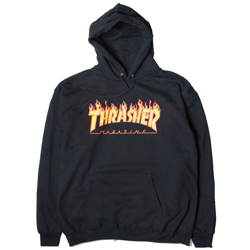 THRASHER FLAME (BLACK)