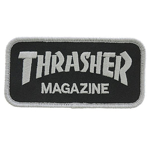 PARCHE THRASHER MAGAZINE (BLACK)