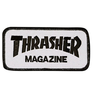 PARCHE THRASHER MAGAZINE (WHITE)