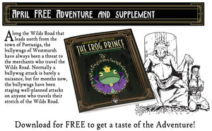 April 2019 FREE Adventure and Supplement