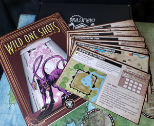 DM Tools Wild One-Shots - Print Edition