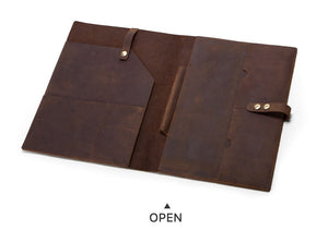 Luxury Leather Sleeve for Tablets, Laptops, iPad & Macbook Pro - CF2002