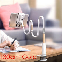 Load image into Gallery viewer, Tablet and Phone Holder 130cm Long Arm Bed/Desktop Clip Bracket For iPad