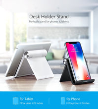 Load image into Gallery viewer, Desk Phone & Tablet Stand