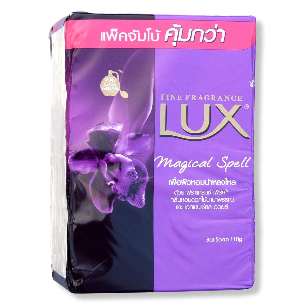 Lux Magical Spell Bar Soap 110 grams each Pack of 4