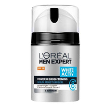 Load image into Gallery viewer, L'Oreal Men Expert White Activ Skin Whitening Moisturizer SPF 26 50ml