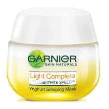 Load image into Gallery viewer, Garnier Light Complete Yoghurt Sleeping Mask Whitening Night Cream 50ml
